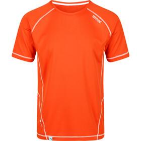 Regatta Virda II T-Shirt Heren, burnt salmon